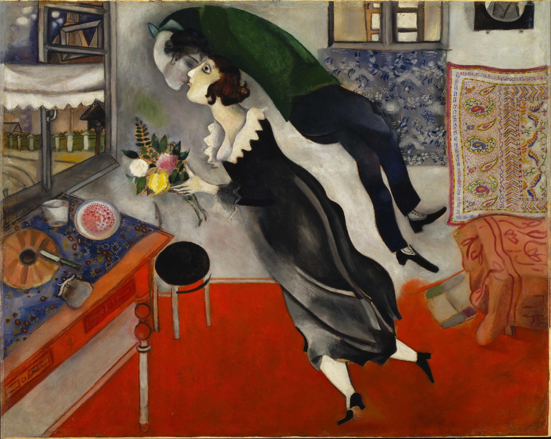 Un Chagall diferente en el Guggenheim