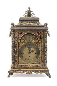 790 Reloj de sobremesa Bracket. Londres, Inglaterra, mediados S. XVIII.00