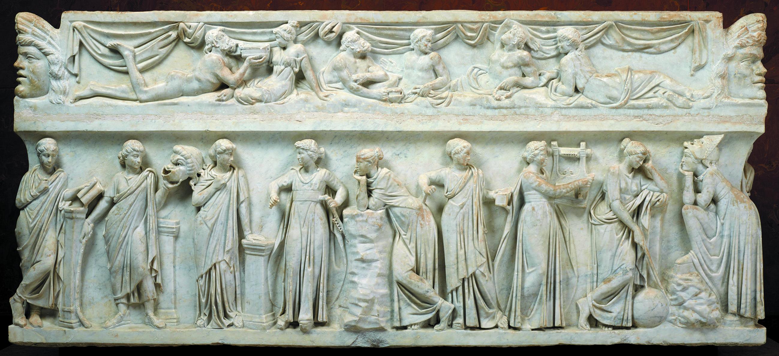 Sarcophage des Muses