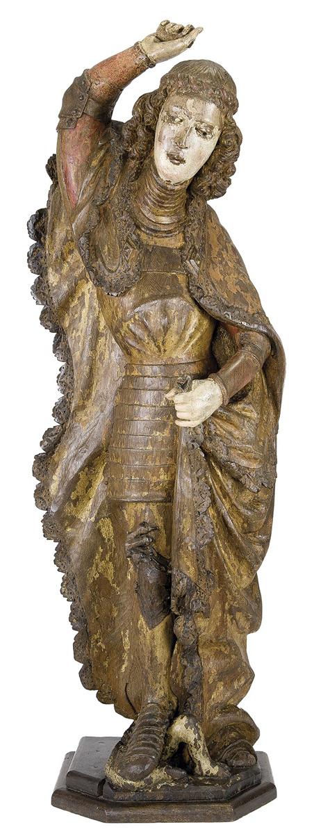19.02-San-Miguel.-Escultura-en-madera-tallada,-dorada-y-policromada.-maestro-de-la-zona-de-Suabia,-sur-de-Alemania,-lago-Constanza-y-sur-de-Tirol.-hacia-1470—1500.04