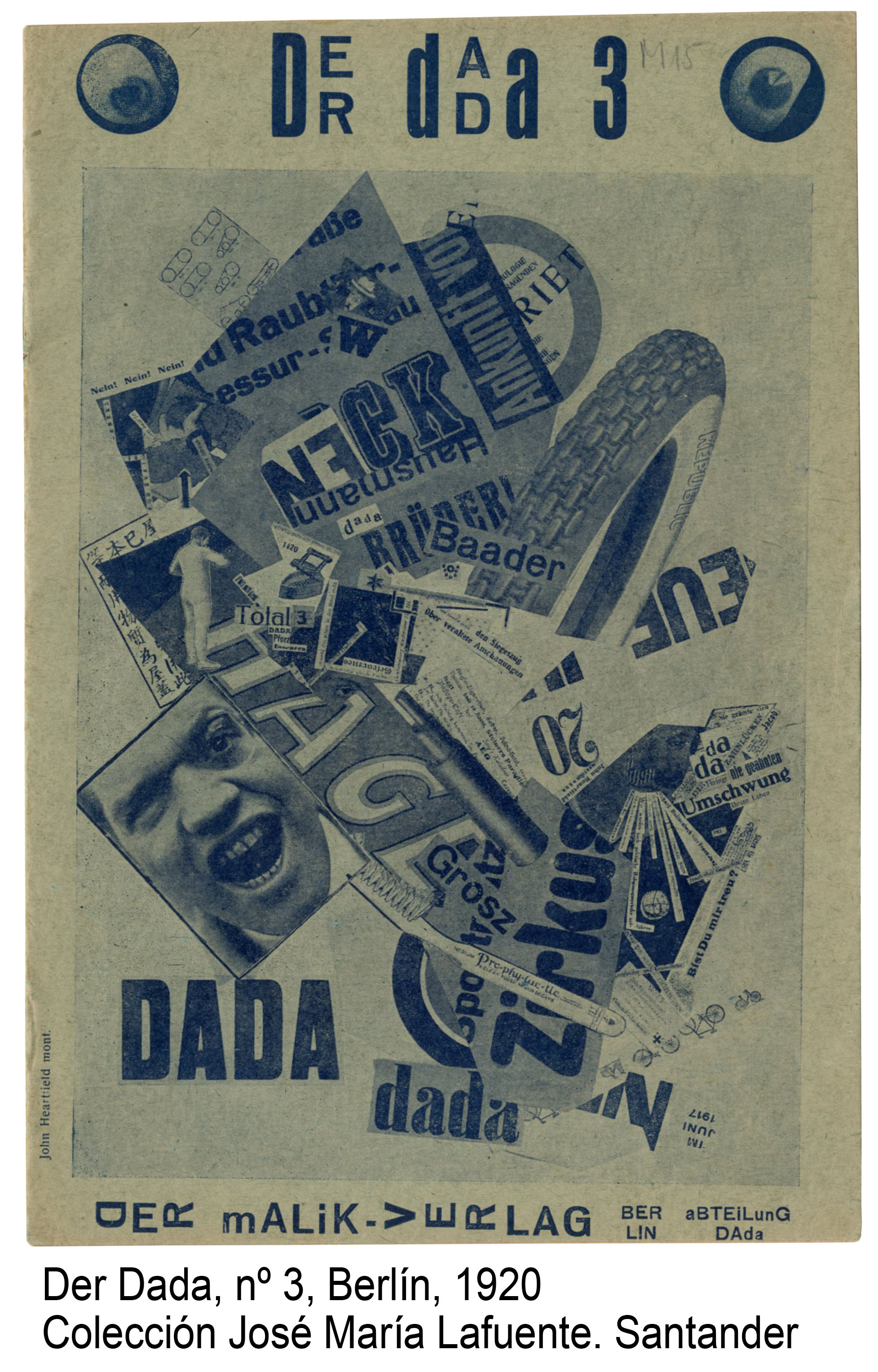 4-Der Dada, n-¦ 3, Berli¦ün, 1920