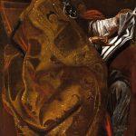 Escuela italiana del siglo XVII, quizá Orazio Borgianni. San Gregorio Magno como Pontífice y Doctor de la Iglesia. Salida: 12.000 euros