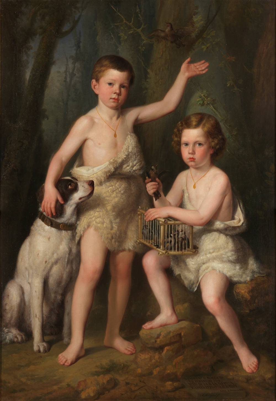 Esquivel Raimundo Roberto y Fernando Jose hijos de S.A.R. la infanta Dña Josefa de Borbon
