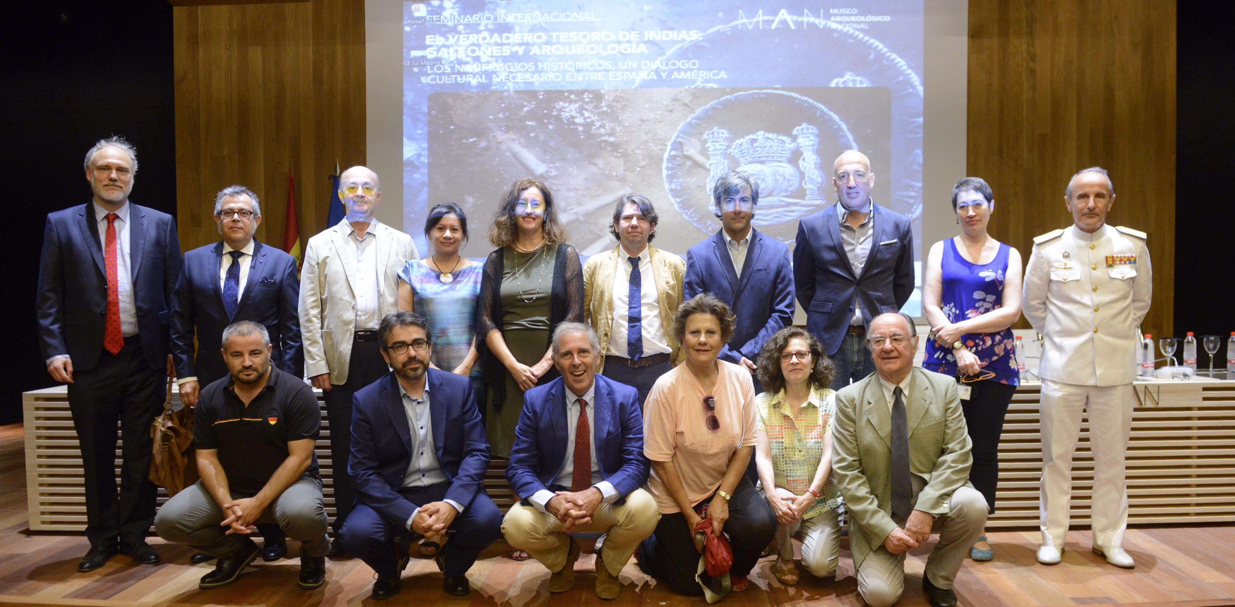Foto Seminario Internacional El Tesoro de las Indias