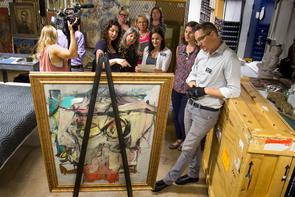 Willem de Kooning «Woman-Ochre» Returned to UA Museum of Art