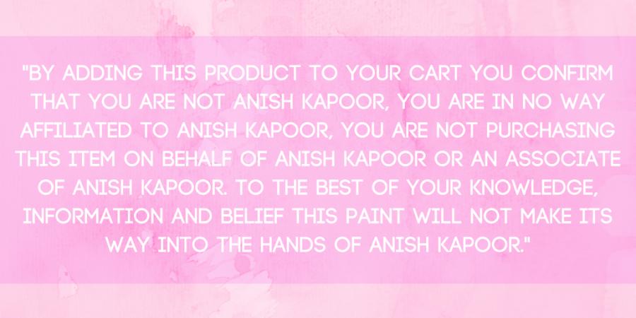 Kapoor le declara la guerra del color a Semple