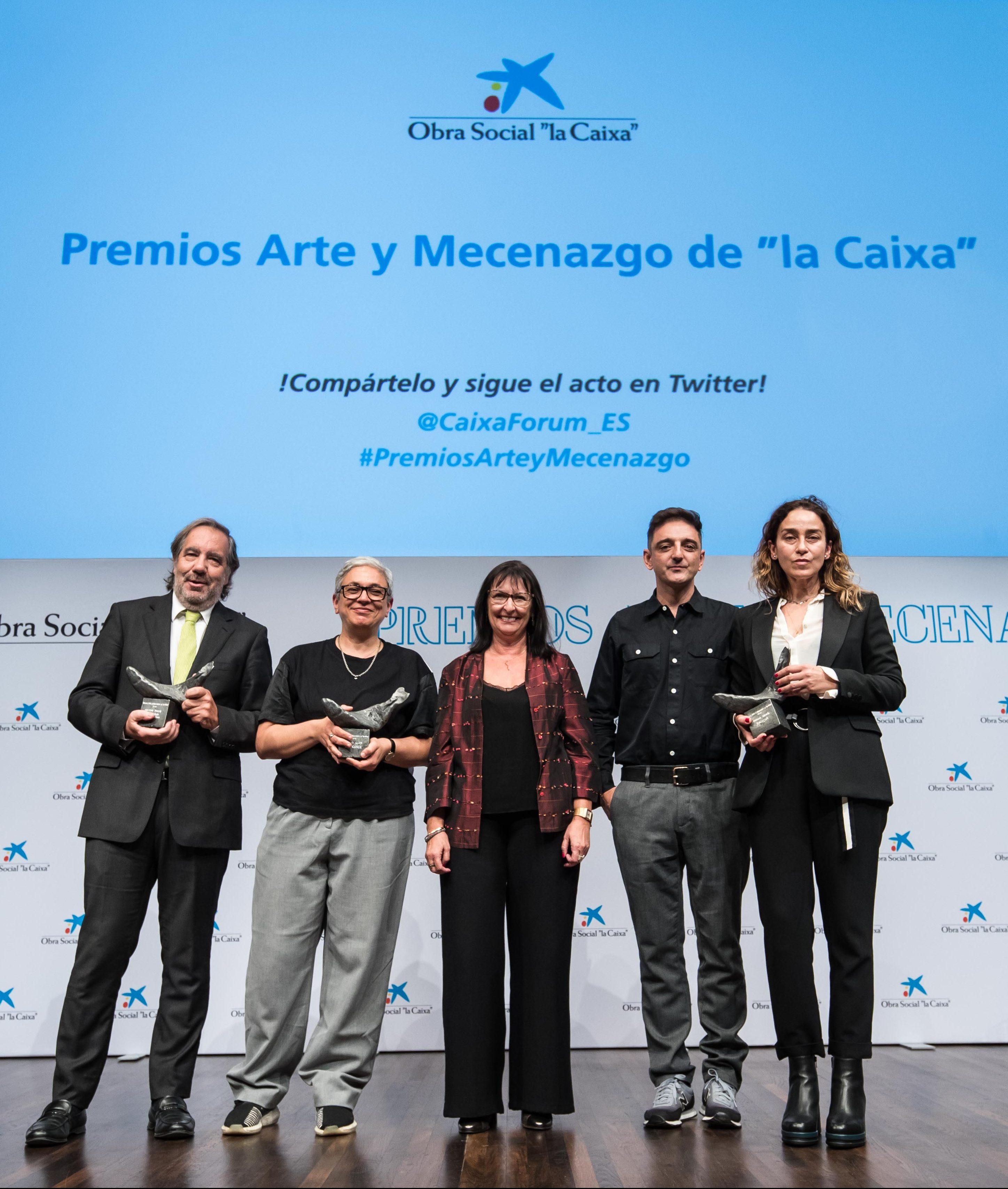 Entrega Premios Arte y Mecenazgo 2018 – OS la Caixa 1 (1)
