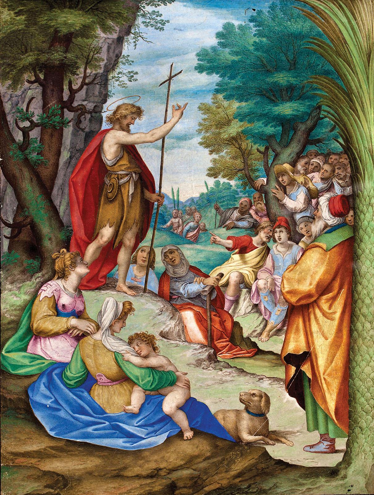 982f07081d ... Giovanni Battista Castello. Predicación de san Juan Bautista