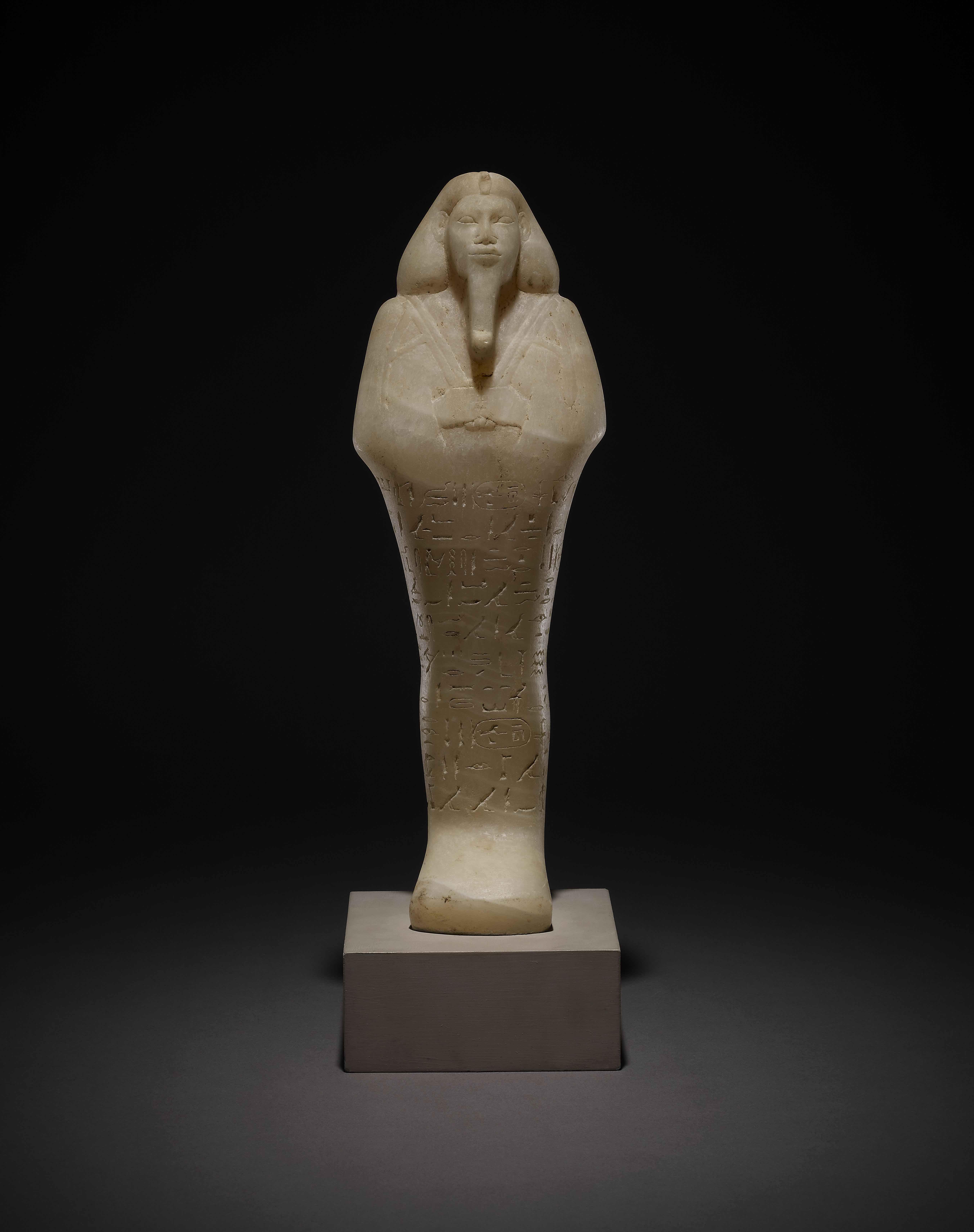 i-ushebti-i-del-faraon-taharqa-calcita-dinastia-xxv-reinado-de-taharqa-c-690-664-a-c-tumba-de-taharqa-nuri-sudan