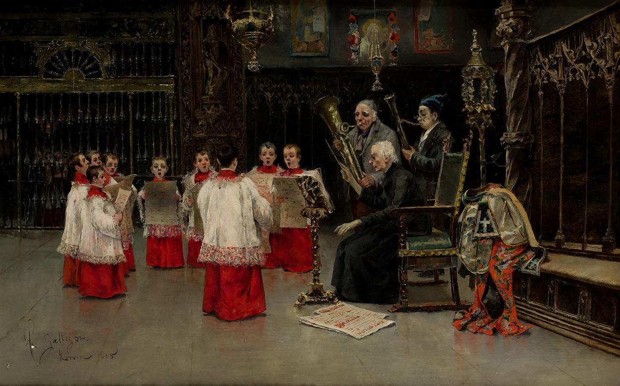 José Gallegos. Recital, 1885. Salida: 38.000 euros. Remate: 40.000 euros