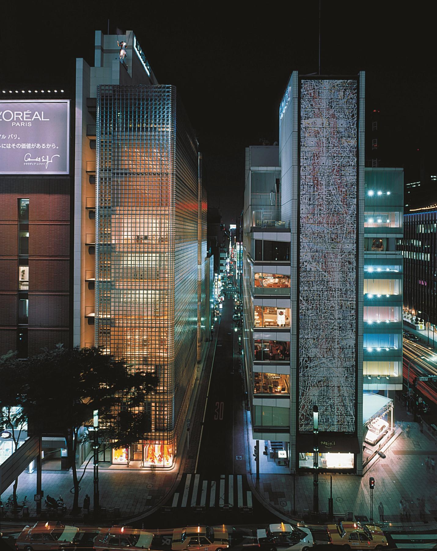 Masion Hermes (Tokio) Renzo Piano- Fotografía Michel Denancé