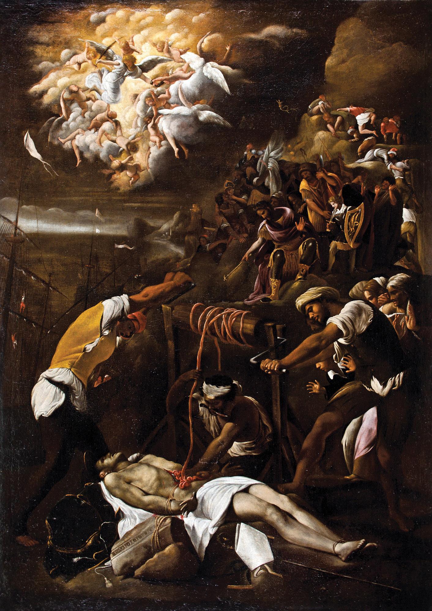 912a938d43 Orazio Borgianni. Martirio de san Erasmo. Salida  160.000 euros