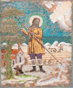 2.1.-San-Isidro-Labrador-Arte-plumario.-Arte-Novo-Hispano.-México-Siglo-XVIII.00a