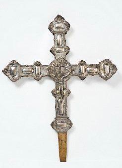 880-Antigua-cruz-procesional-en-plata-española-en-su-color-S.XVIII.-01