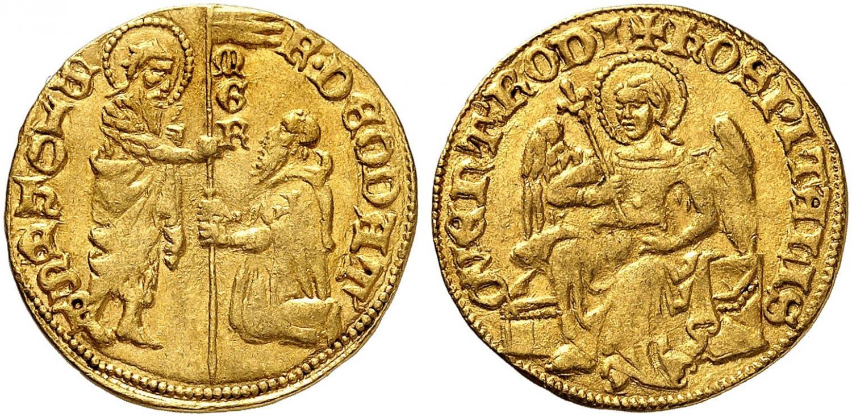 Ducado de las cruzadas (orden de los caballeros de San Juan). Rematado en 140.000 francos suizos. Sincona