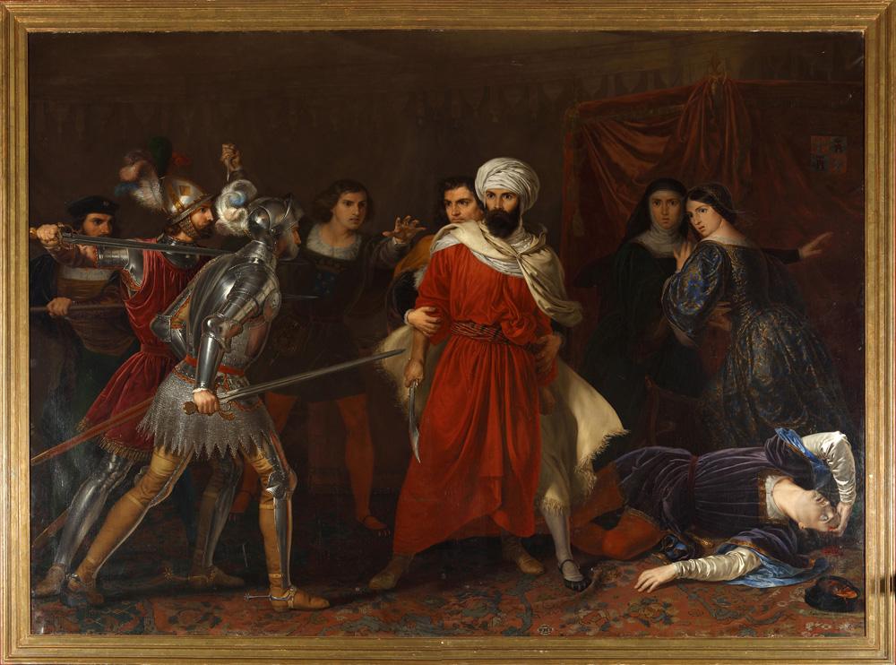 Episodio de la Conquista de Malaga Coleciones Reales Patrimonio Nacional
