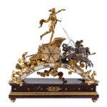 Un gran reloj francés del S. XIX sobresale en la subasta de Goya