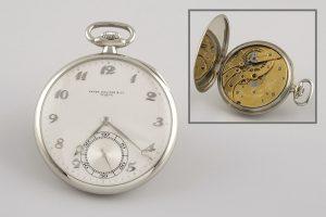55 Reloj lepine PATEK PHILIPPE, realizado en los AÑOS 20, de oro blanco.00