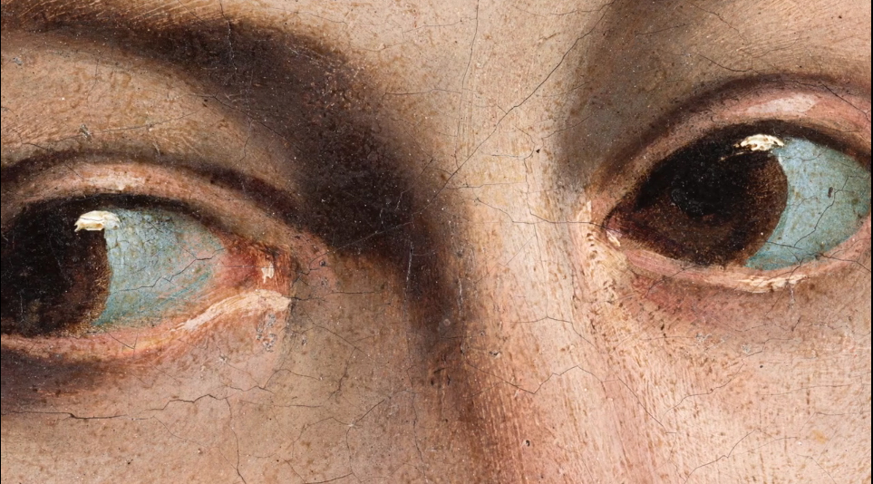catalina caravaggio detalle ojoos