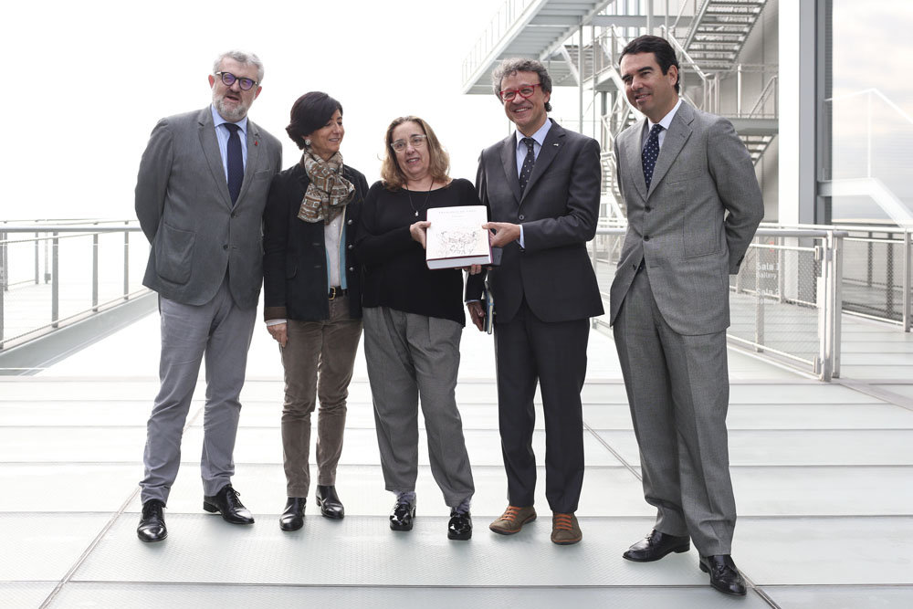 foto institucional presentacion libro Goya