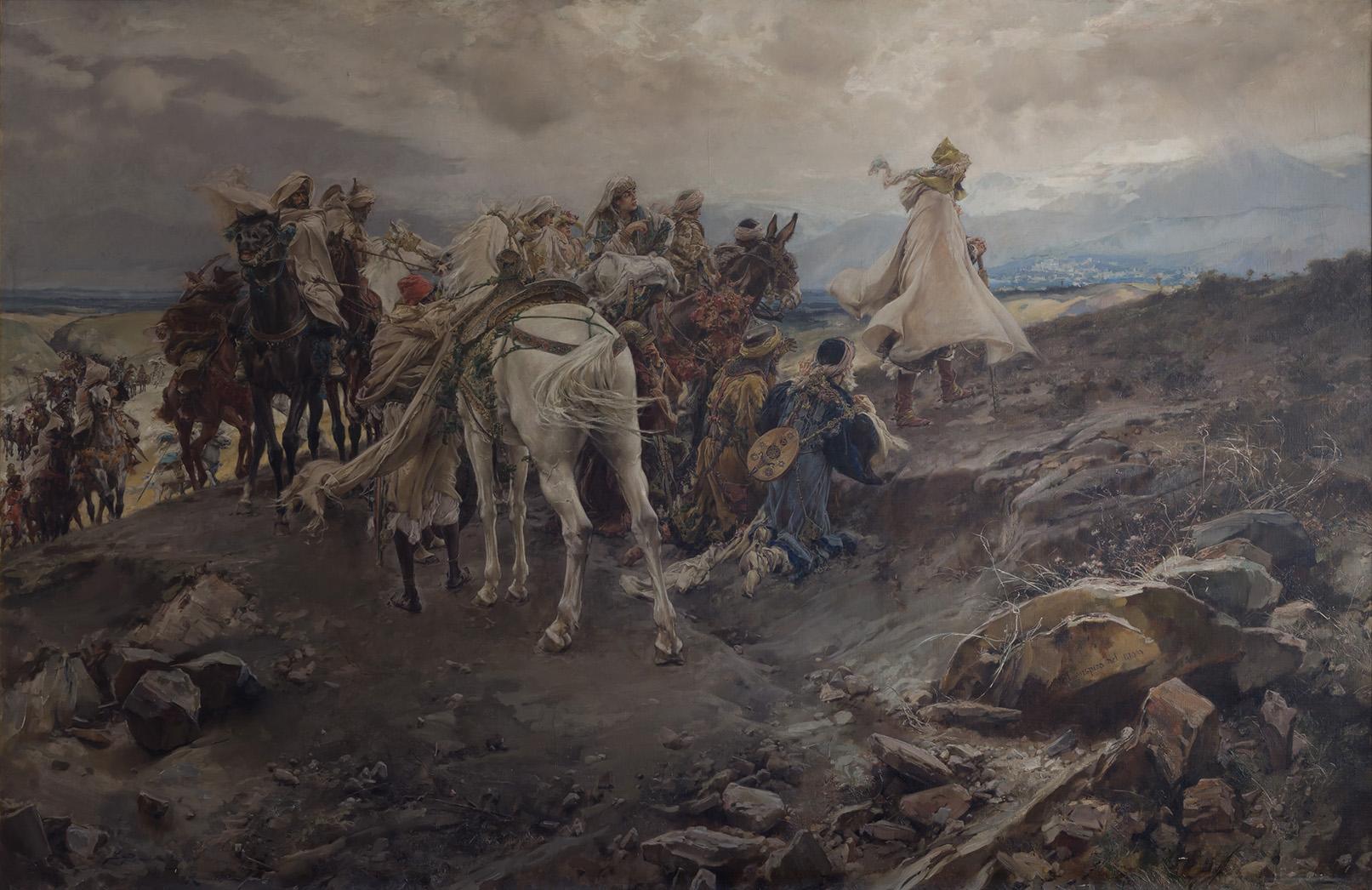 Francisco Pradilla. El suspiro del moro, 1879-1892. Salida: 220.000 euros. Remate: 240.000 euros
