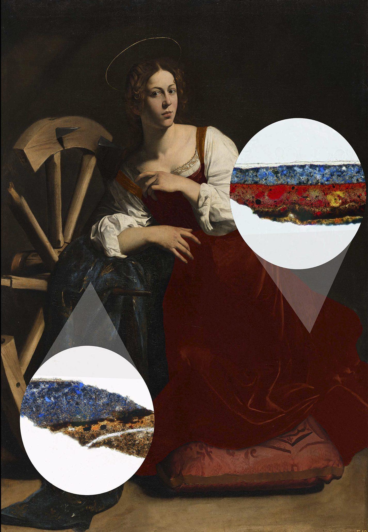 Hipotesis color vestido Caravaggio thyssen