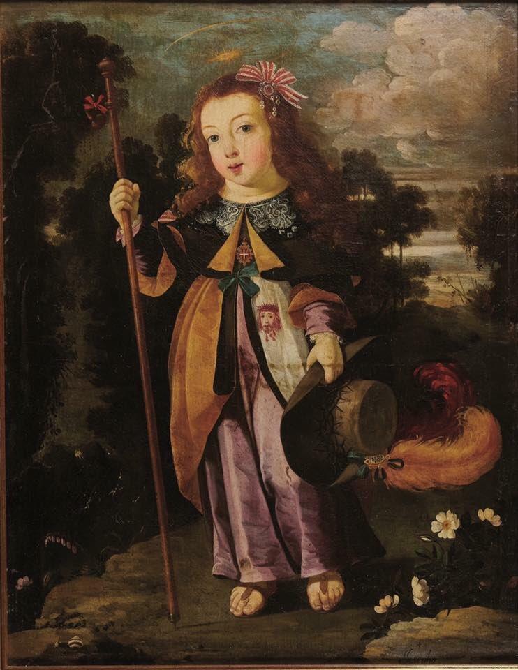 Josefa de Óbidos. Niño Jesús peregrino. Salida: 15.000 euros. Remate: 110.000 euros