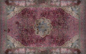 394-alfombra-oriental-khorassani-anudada-a-mano-en-lana-y-rosetn-central-sobre-fondo-totalmente-cubierto-de-ramilletes-florales-y-vegetales.-esquinas-marcadas-siguiendo-la-misma-decoracin.-00