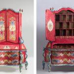 Un escritorio veneciano del s. XVIII lo más destacado de la subasta de Ansorena