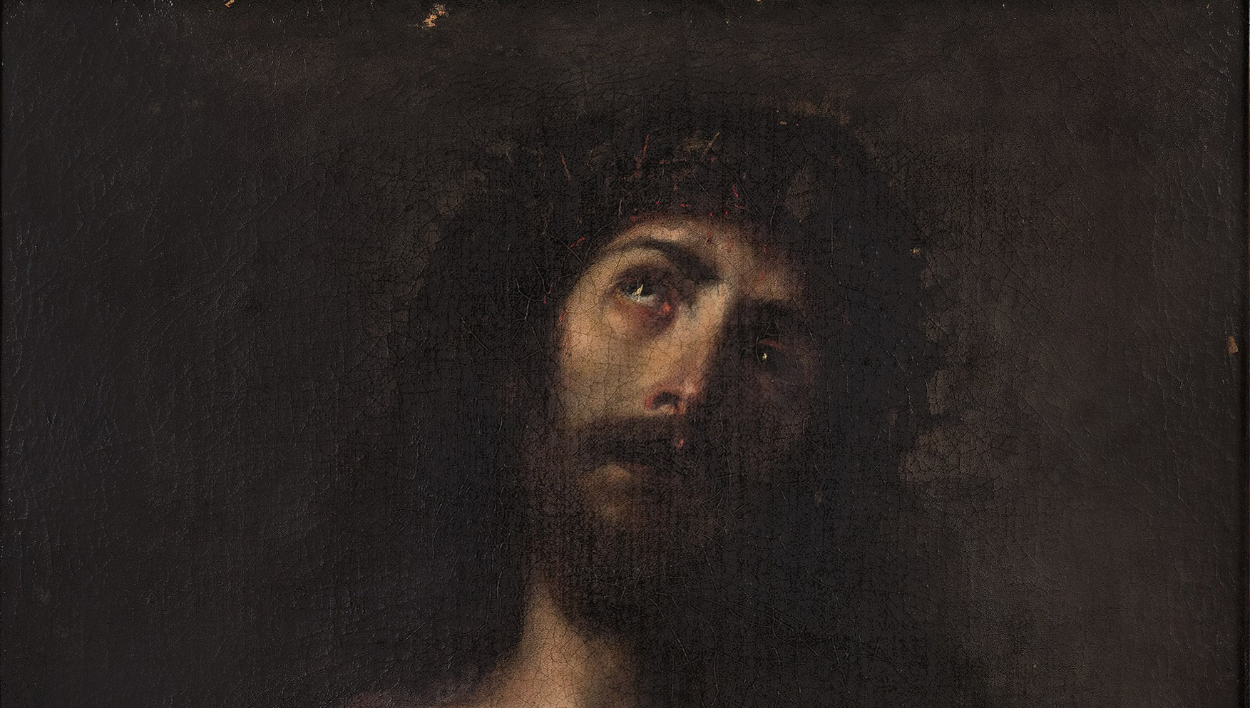 Juan Carreño de Miranda. Ecce Homo, detalle. Salida: 9.000 euros