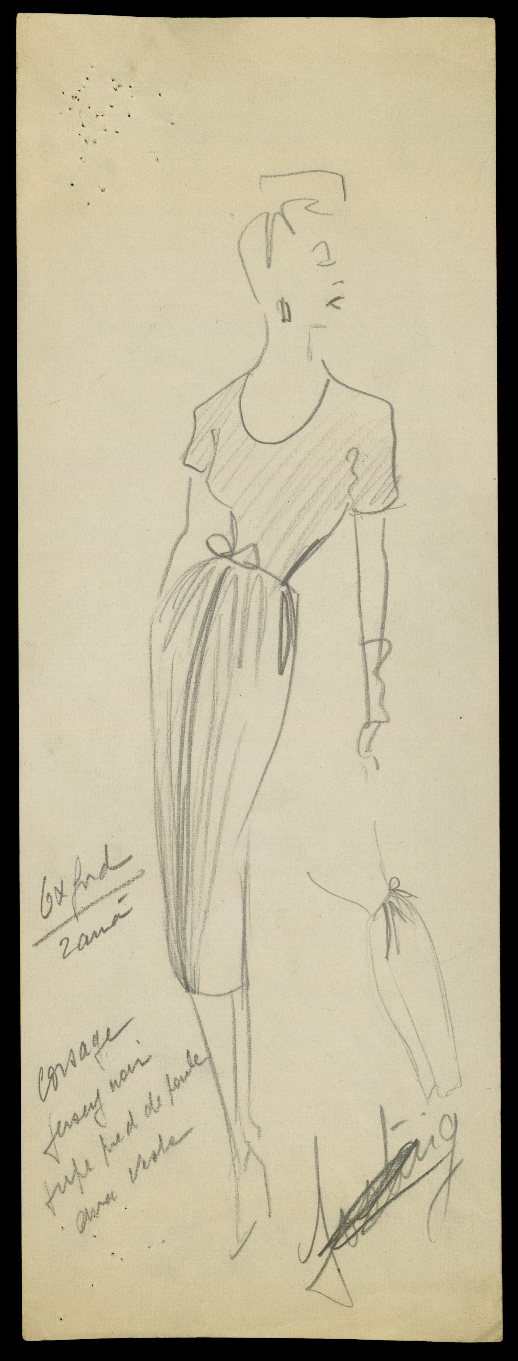 sketch-by-christian-dior-for-model-oxford-spring-summer-1947-haute-couture-collection–christian-dior