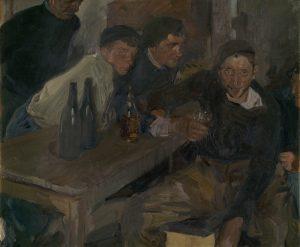 The Drunkard, Zarauz (El Borracho, Zarauz), 1910