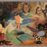 Paleta con pintura de Joaquín Sorolla y otros pintores. Niña sobre la barca. Salida: 50.000 euros. Remate: 95.000 euros