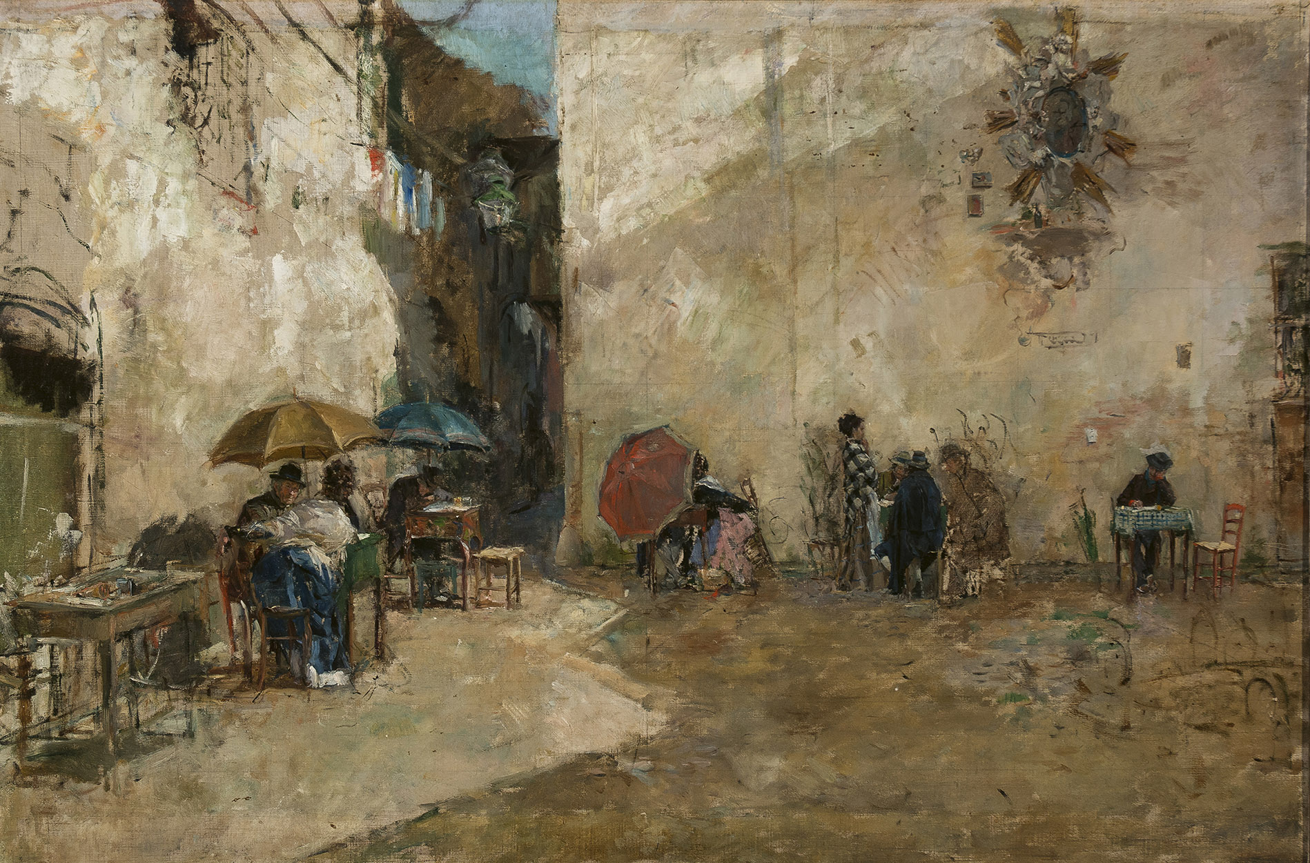Mariano Fortuny. Los memorialistas, c. 1874. Salida: 90.000 euros