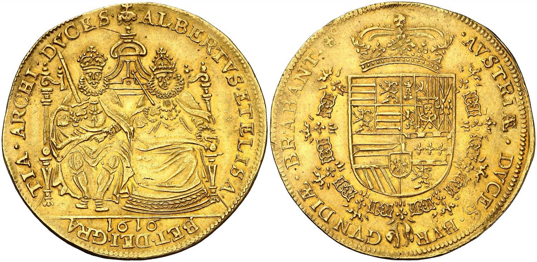 6-soberanos-de-alberto-e-isabel-de-1616.-rematado-en-220.000-euro.-aureocalico