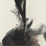 Rafael Canogar. Pintura, 1959. Salida: 40.000 euros. Remate: 55.000 euros