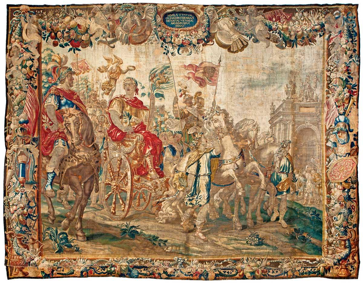 686-tapiz-flamenco-en-lana-posiblemente-de-la-serie-de-tapices-de-csar-y-cleopatra-bruselas-brabante-2-mitad-s.-xvii-firmado-por-el-tejedor-guillaume-van-leefdael-activo-desde-1656.01
