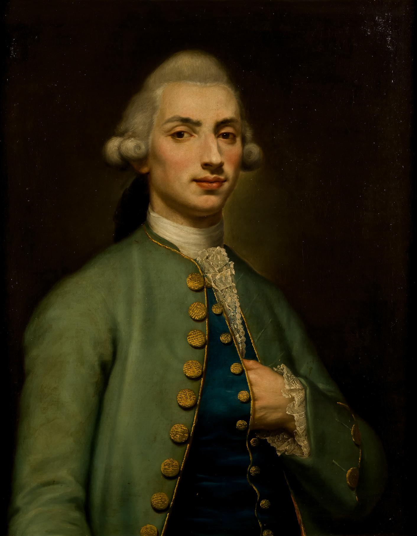 Francisco Bayeu. Retrato del platero Antonio Martínez, c 1780. Salida: 80.000 euros. Remate: 90.000 euros. Comprado por el Estado