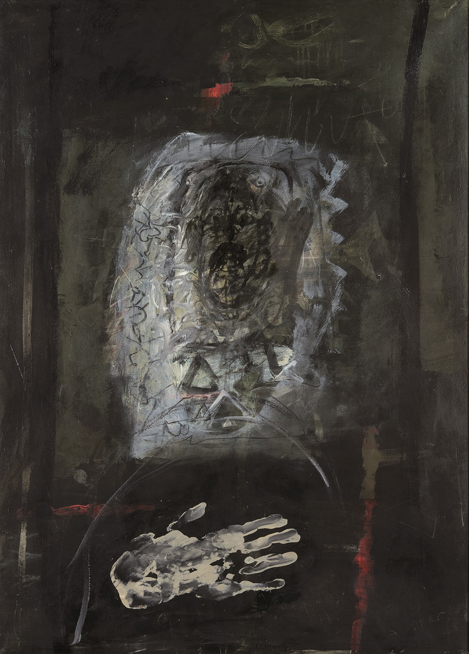 Antoni Clavé. Main blanche, 1965. Salida: 36.000 euros. No vendido