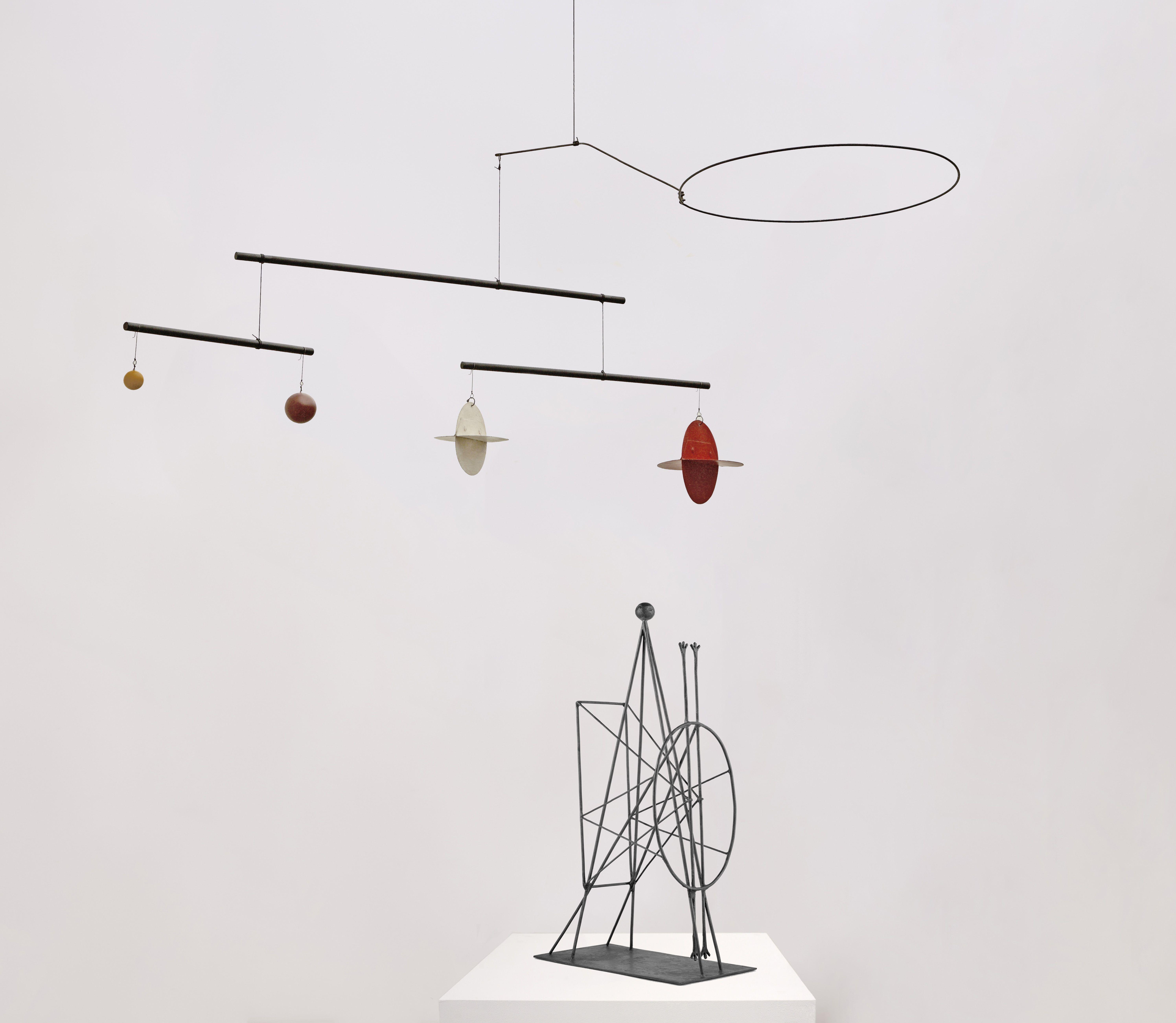 Calder y Picasso, ahora en París y luego en Málaga
