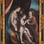 Escuela española del siglo XVII. Desposorios de santa Catalina. Salida: 3.000 euros. Remate: 23.000 euros