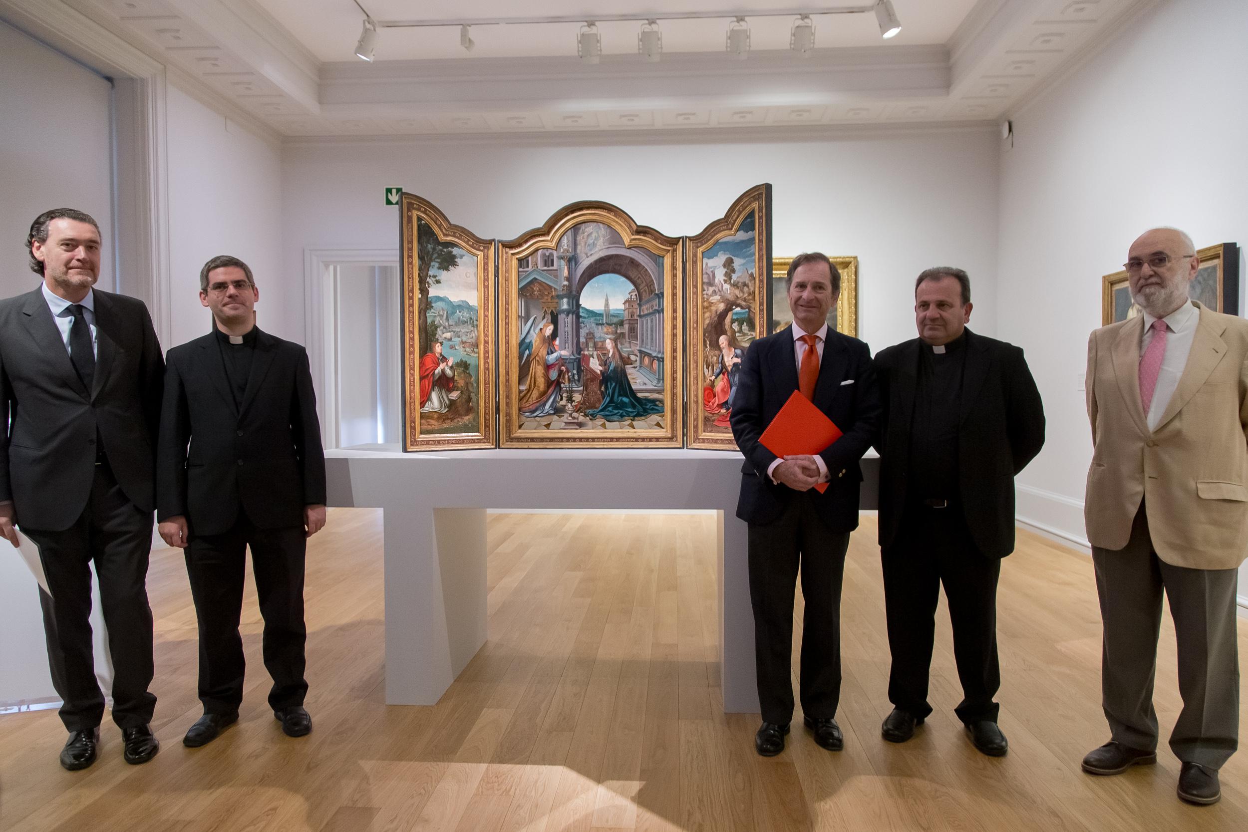 El tríptico de la Anunciación de Joos van Cleve en el Museo de Bilbao