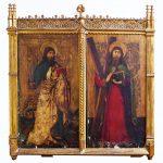 Dos tablas del Maestro de Palanquinos en Ansorena