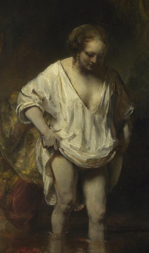 mujer-banandose-rembrandt