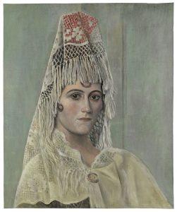 pablo-picasso-1881-1973-i-olga-khokhlova-con-mantilla-i-barcelona-verano-otono-1917-fundacion-almine-y-bernard-ruiz