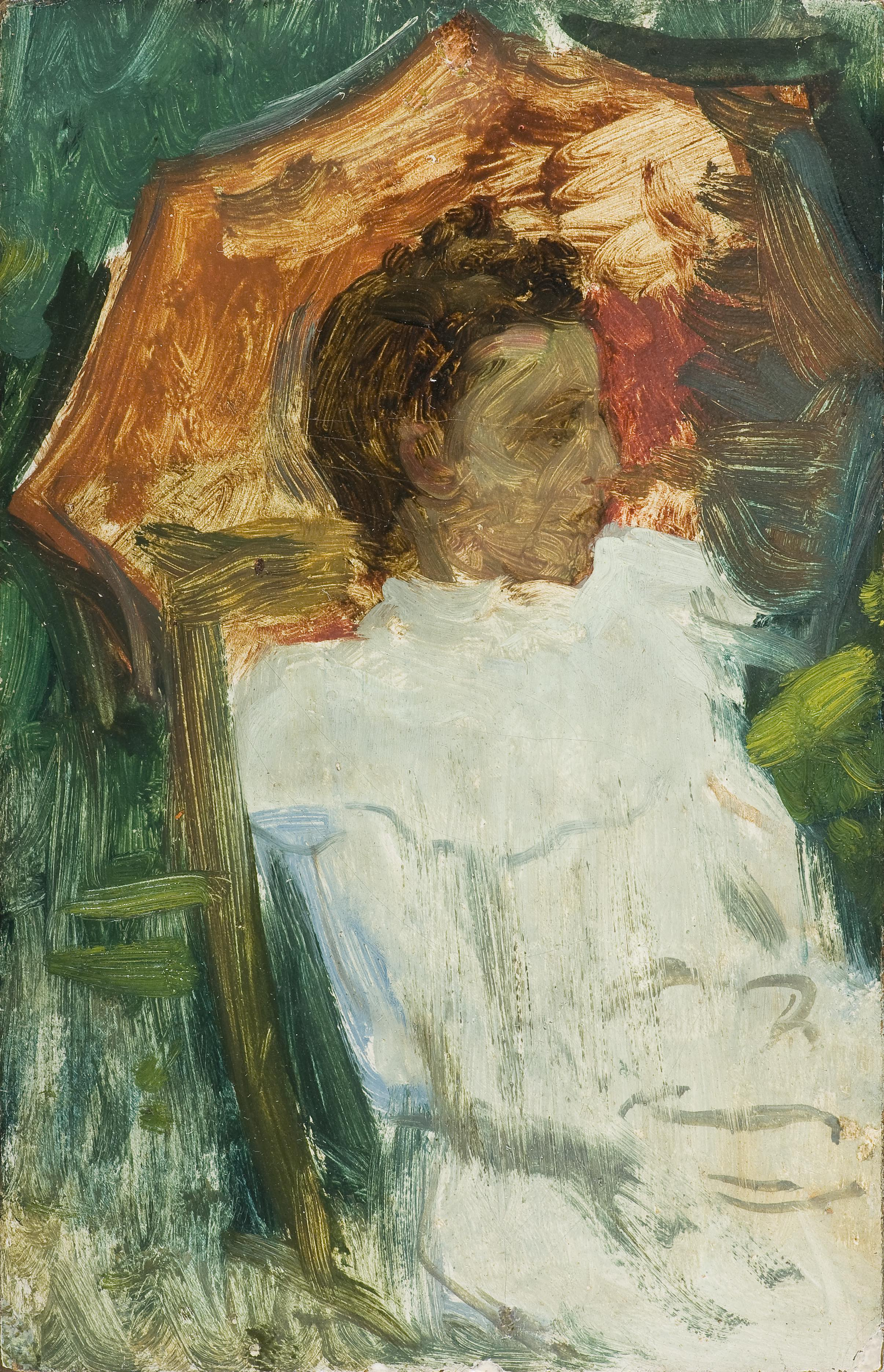 baja_mujer-sentada-con-sombrilla.-museo-de-bellas-artes-de-cordoba
