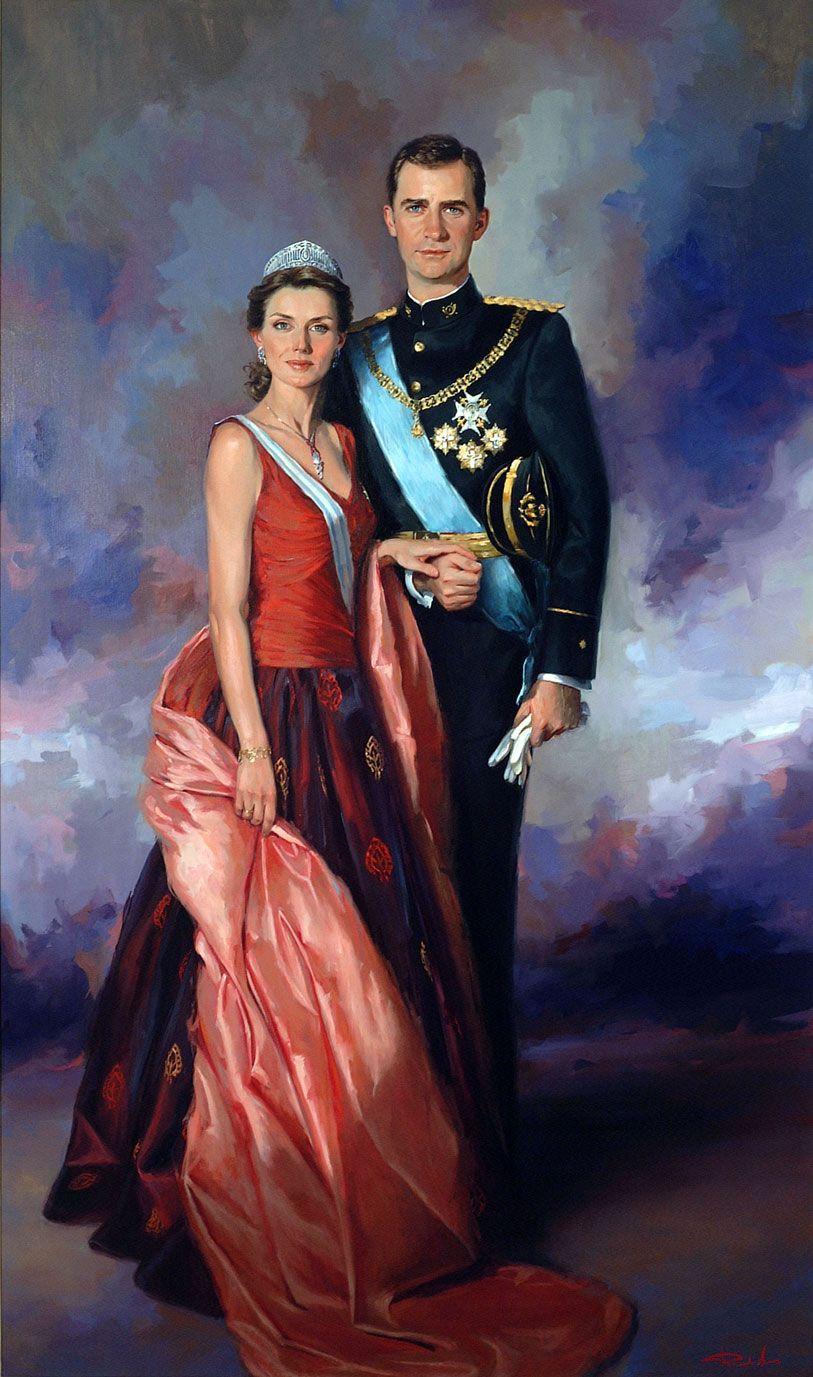 ricardo-sanz-retrato-de-ssaarr-los-principes-de-asturias