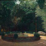 Santiago Rusiñol. Brollador del Parc Badés, Arbúcies, 1930. Salida: 95.000 euros. Remate: 100.000 euros