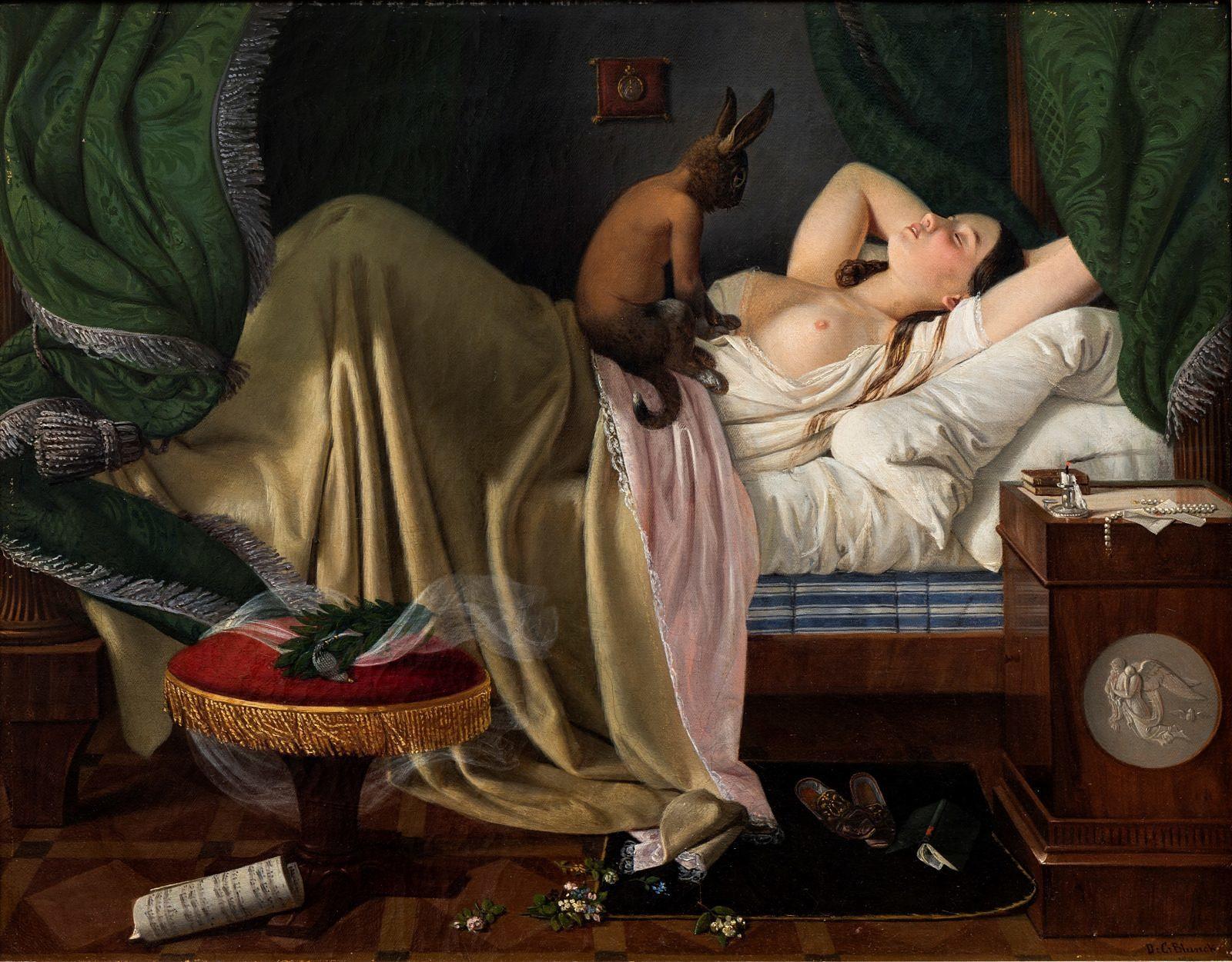 Ditlev Blunck, Mareridt, 1846