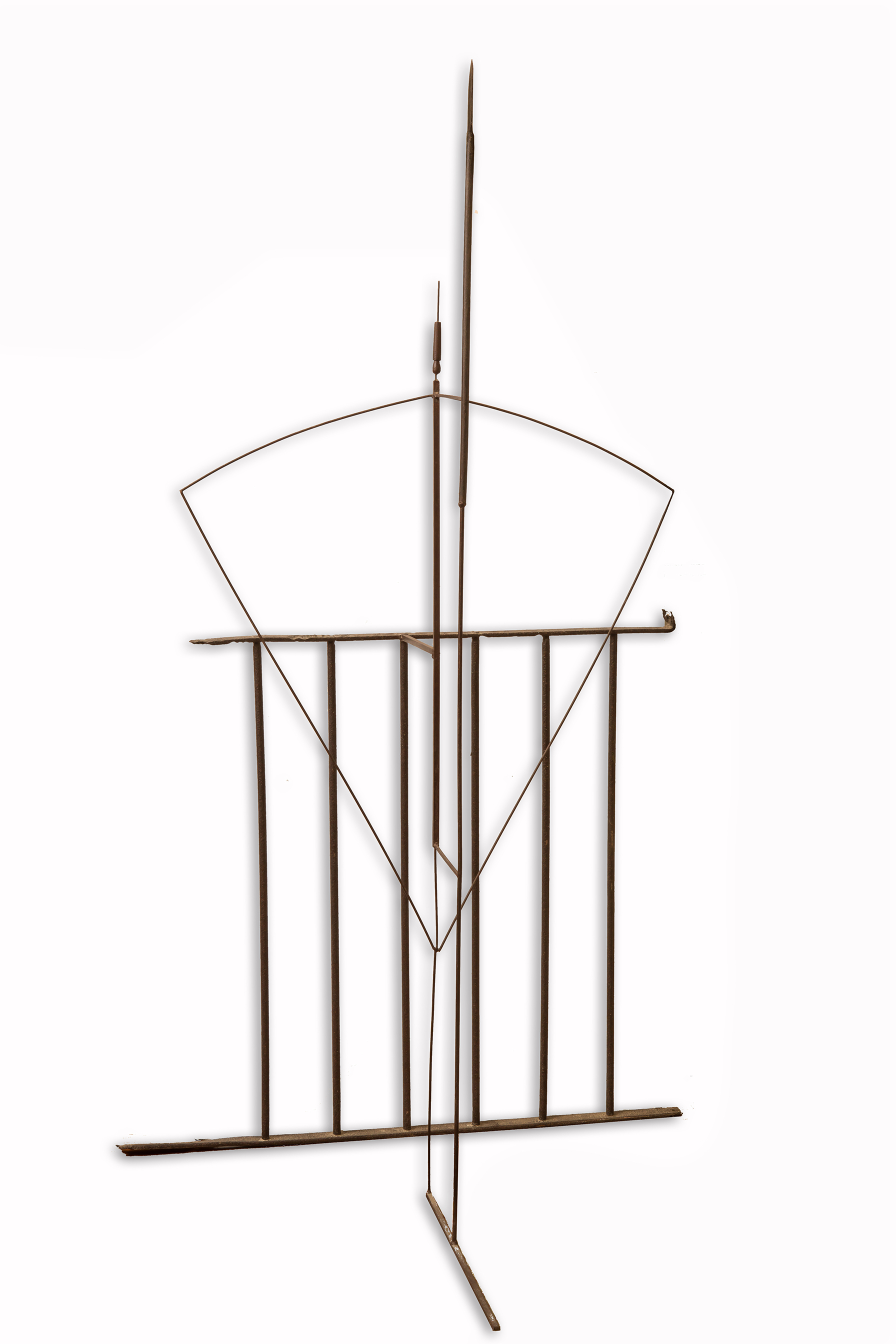 Jaume Plensa. Darrera, 1982. Salida: 40.000 euros. No vendida